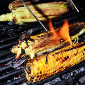 Maïs grillé au BBQ