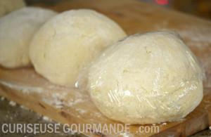 Boules de pâte à gnocchis