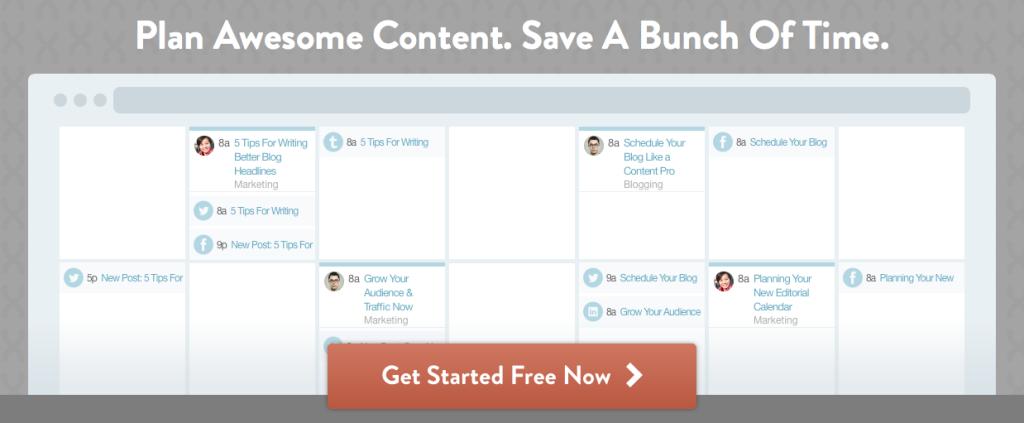 Co-Schedule : un outil puissant de planification de blogue | www.CurieuseGourmande.com