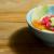 Salade d'hiver : fenouil, orange sanguine, radis et pomme. Avec vinaigrette au tahini, huiles d'arachide et de sésame, et mélasse de grenade | CurieuseGourmande.com